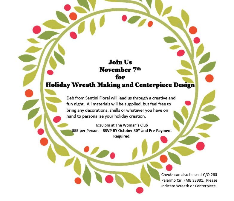 Membership Meeting – Wreath Event